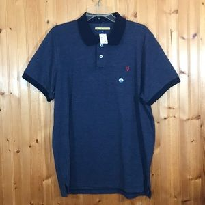 NWT Aeropostale Prince & Fox Blue XL Polo Shirt